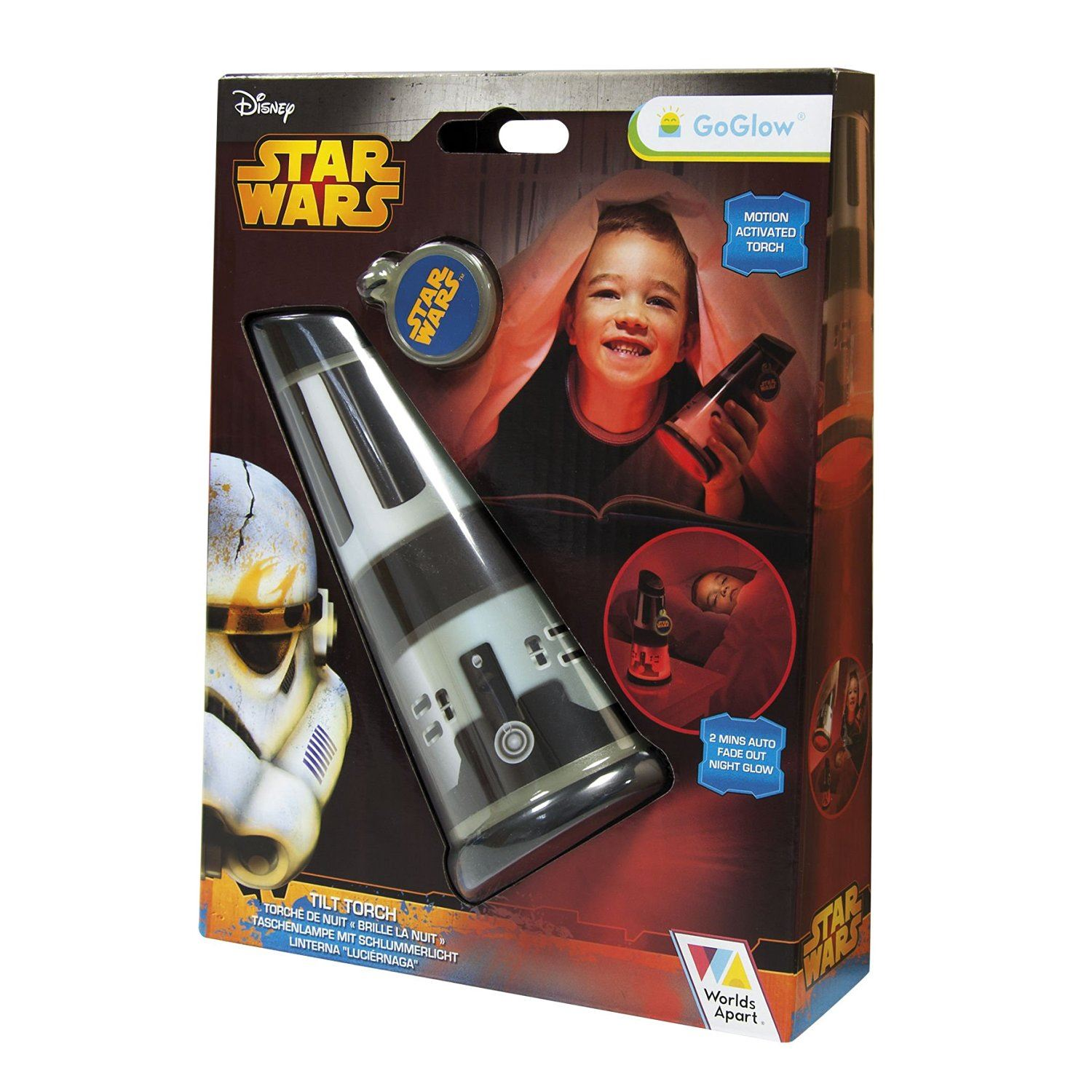 Star Wars Go Glow Tilt Torch And Night Light