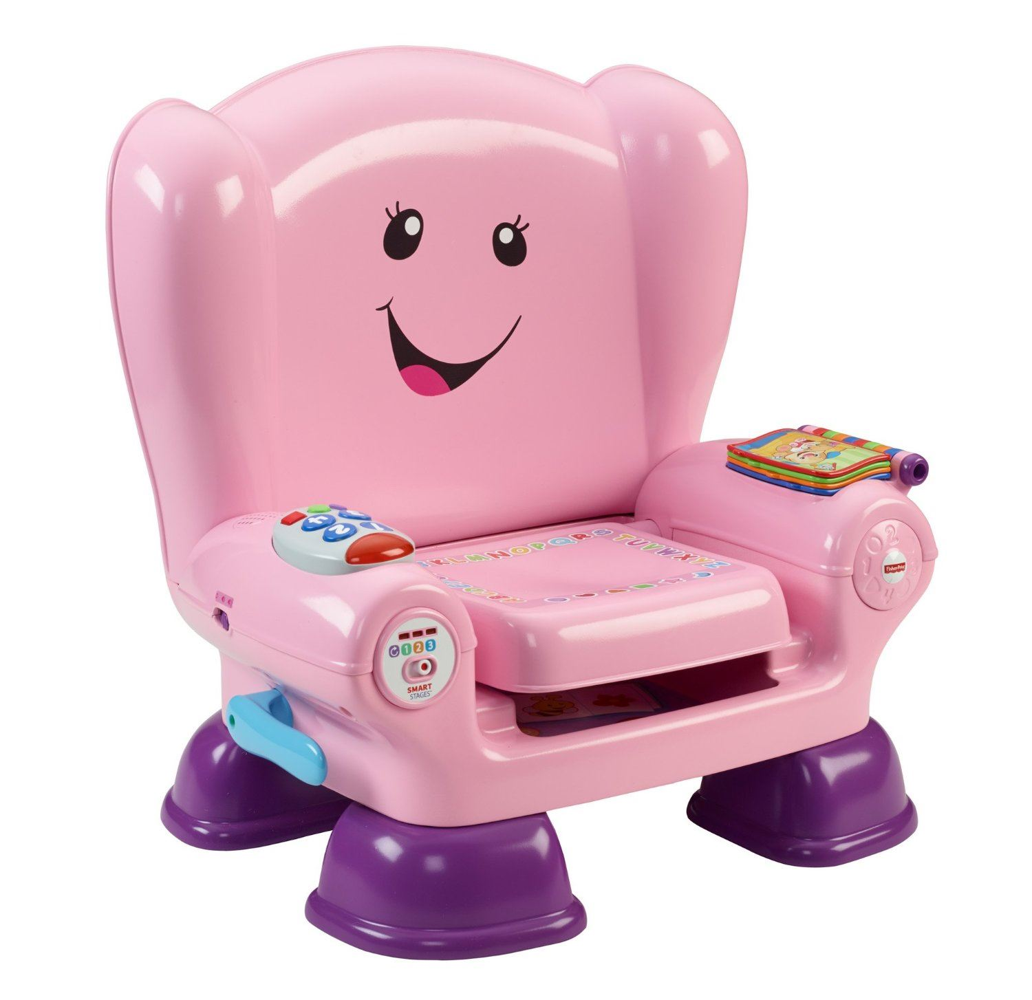 Fisher Price Laugh Learn Smart Stages Chair PINK Or