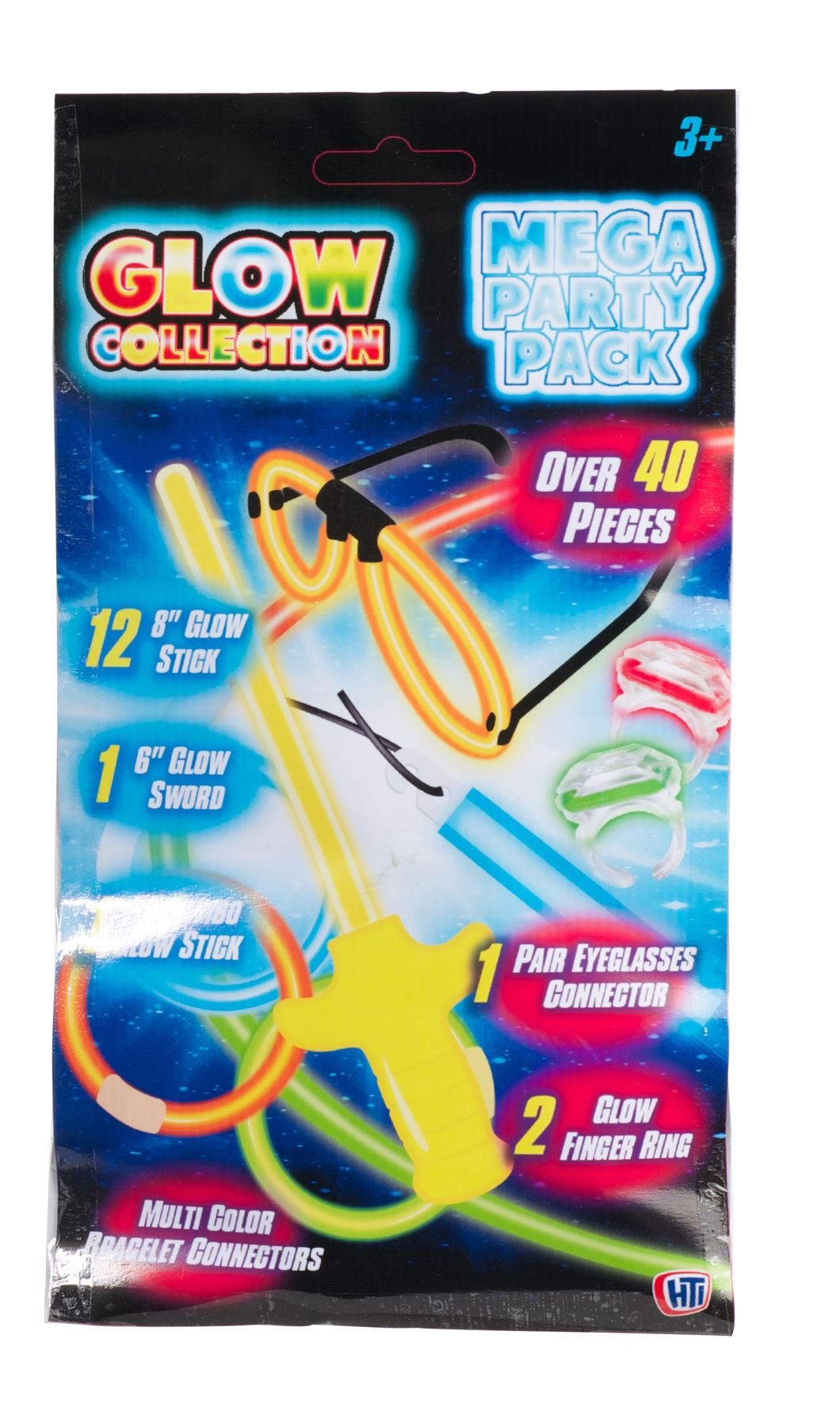 Glow Collection Mega Party Pack - 6 Glow Sword