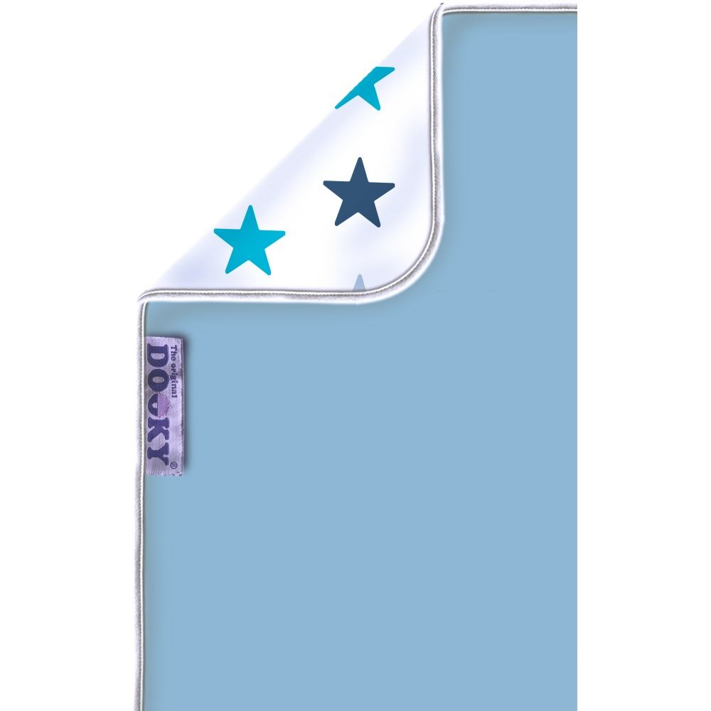Dooky Blanket Baby Blue/blue Stars 126509