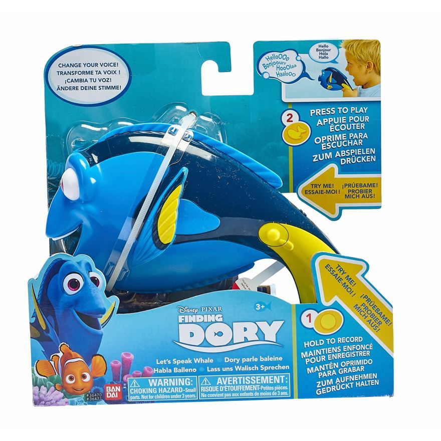Finding Dory - Lets Speak Whale Interactive Dory