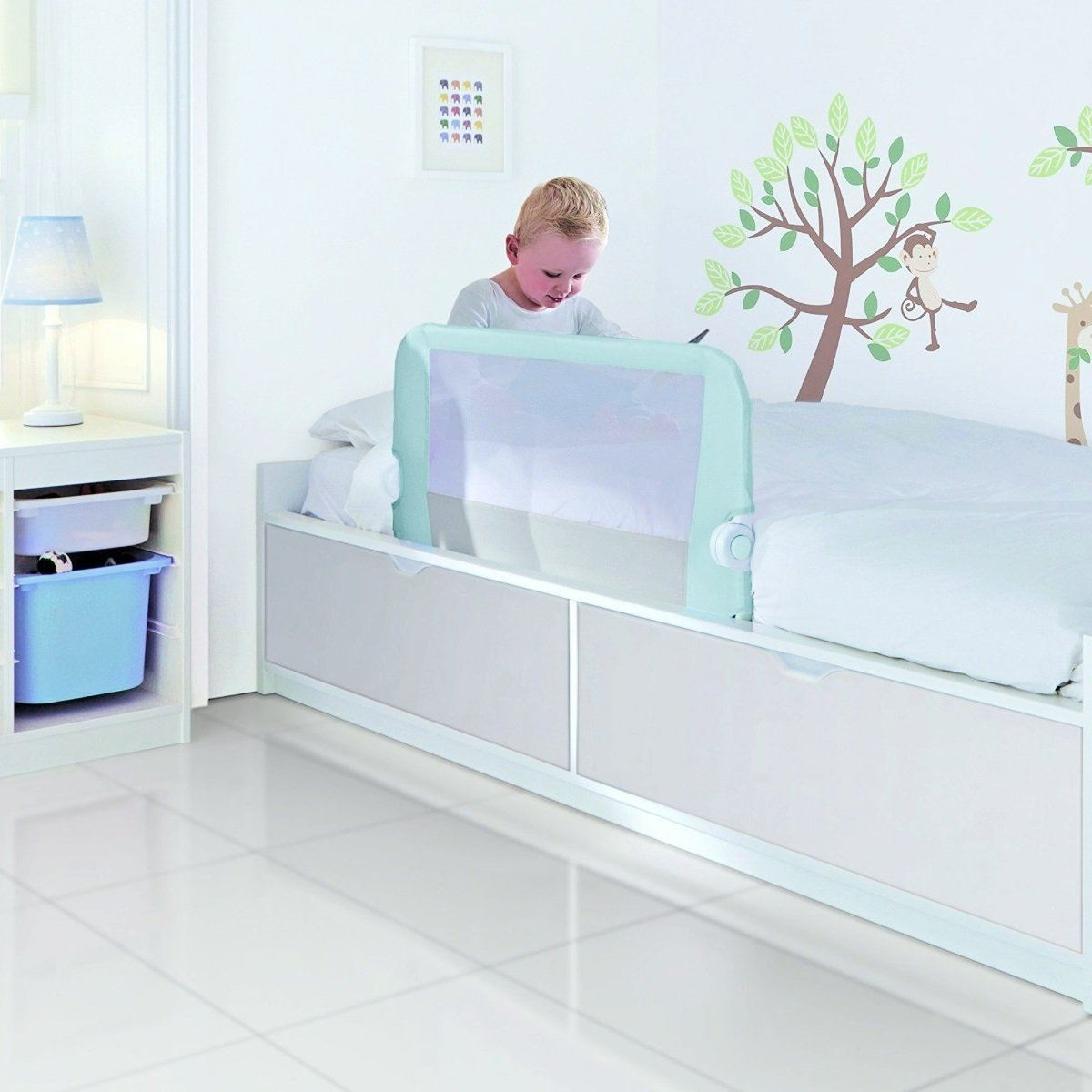 Lindam Toddler Easy Fit Blue -bed Rail Guard