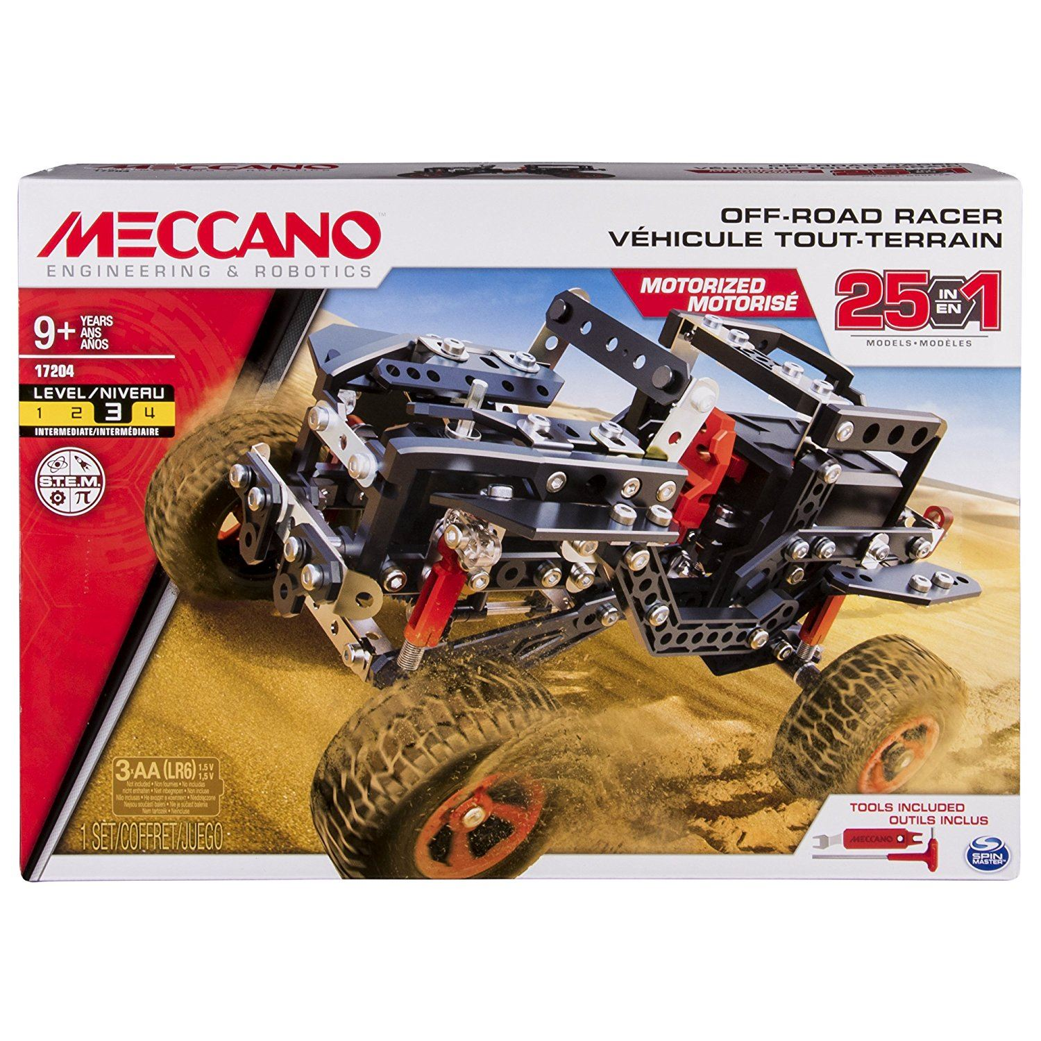 Meccano Off Road Racer 25 In 1 Models #6037616