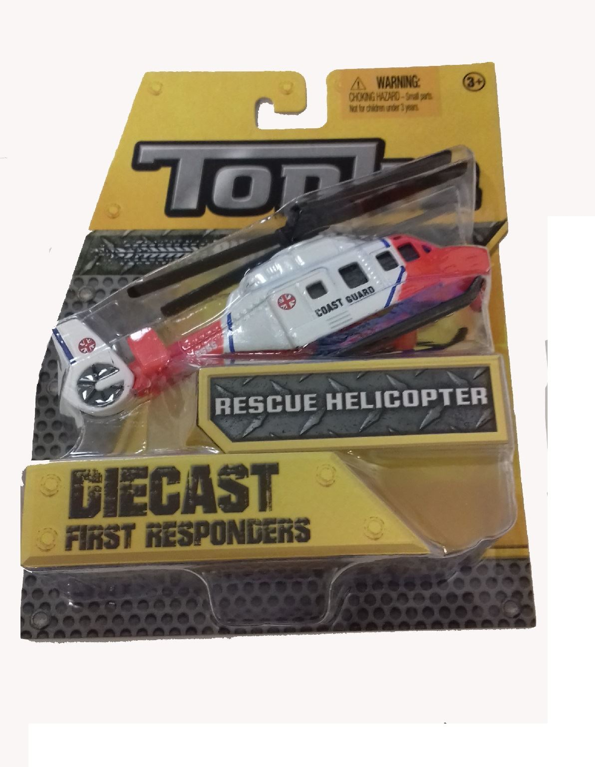 Tonka Diecast First Responders Rescue Helicopter #08230