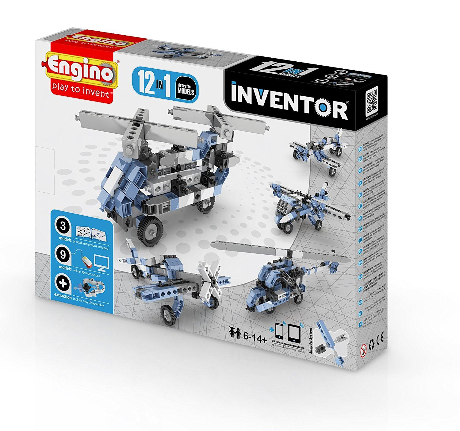 Inventor 12 In 1 Aircrafts Models #1233