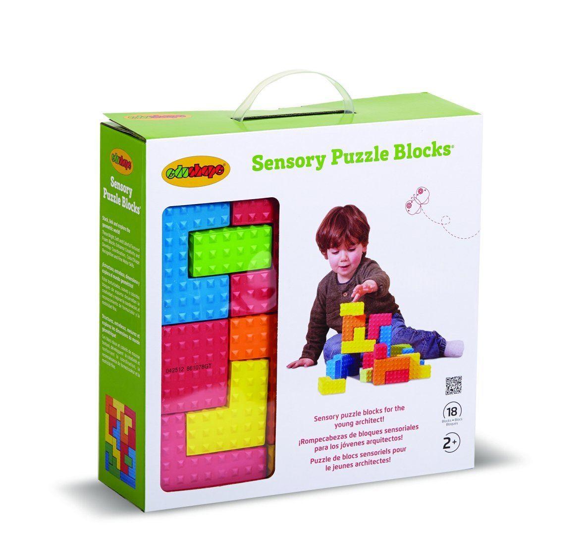 Edushape Sensory Puzzle Blocks #716167
