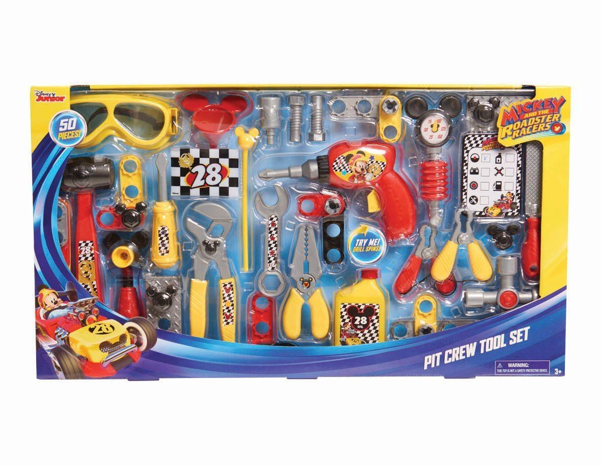 Mickey And The Roadster Racers Pit Crew Tool Set #38059