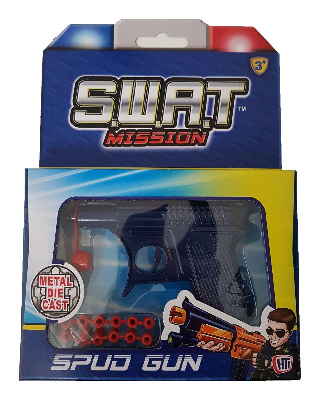 S.w.a.t Mission Spud Gun (blue) #31769