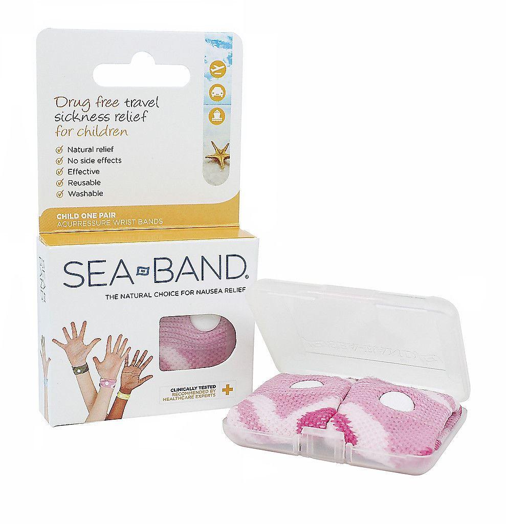 Sea band motion sickness