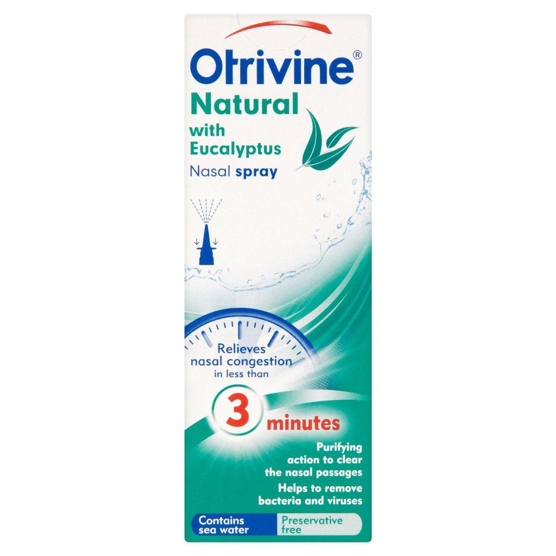 Natural nasal spray