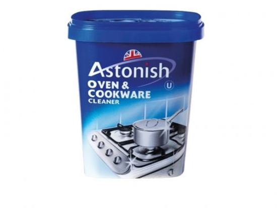 New astonish oven cookware cleaner cleaning removes grease 500g free p p ebay - Clean burnt grease oven pots pans ...