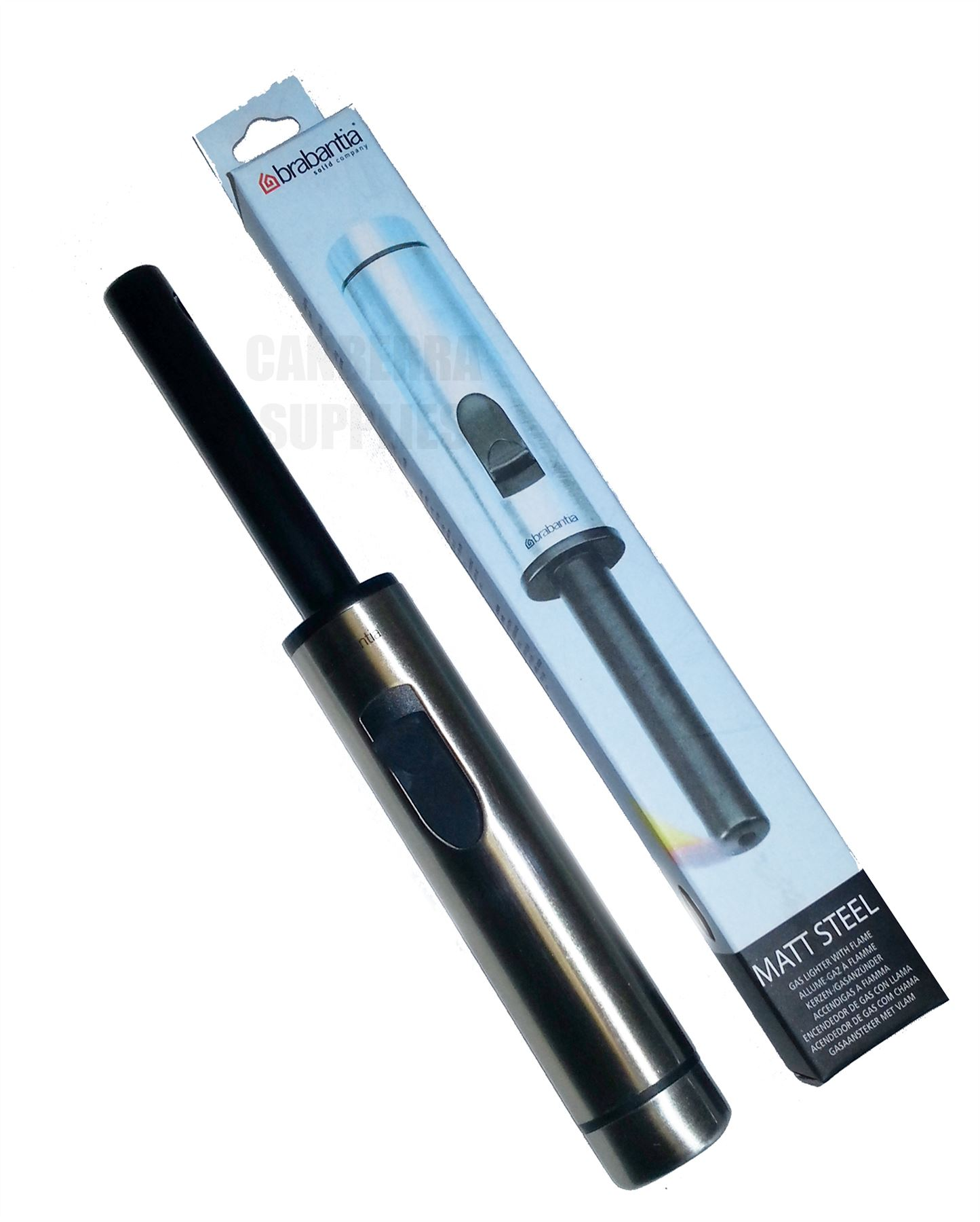 brabantia gas lighter instructions