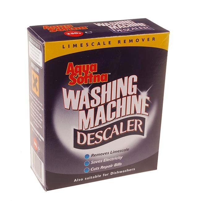 2 x aqua sofna washing machine limescale remover descaler. Black Bedroom Furniture Sets. Home Design Ideas