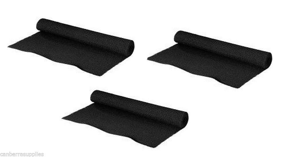 3 x rolls non slip anti slup safety mat under carpets rugs for Non slip mat for laminate flooring