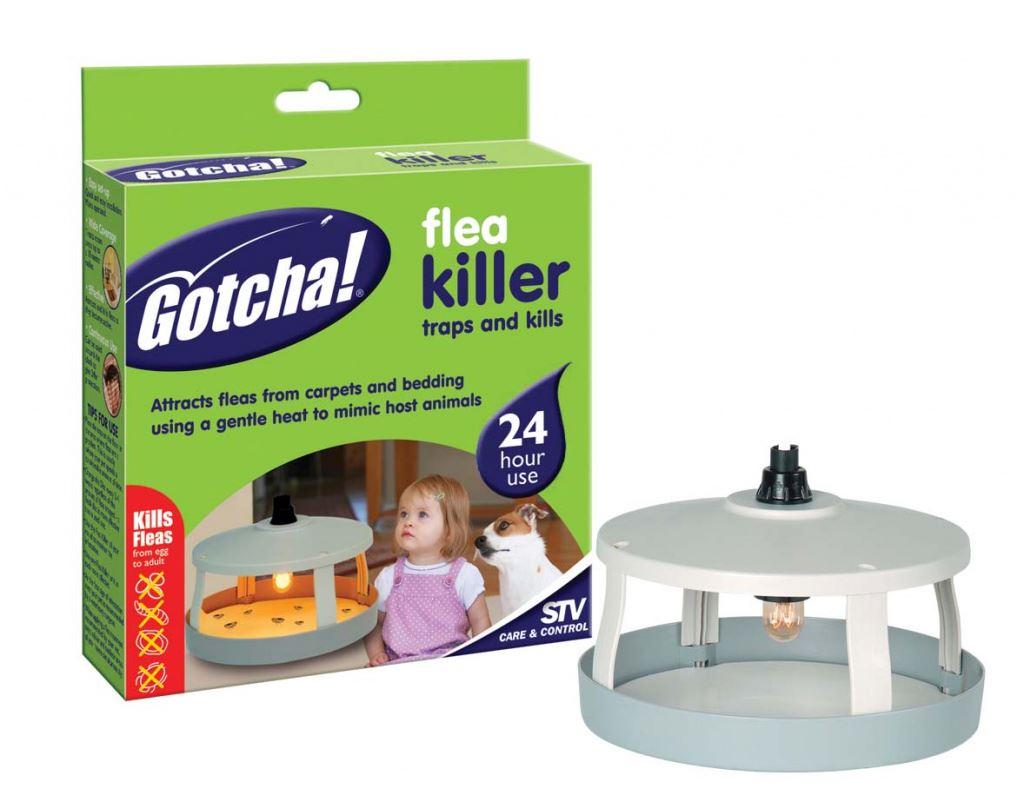 Gotcha Electric Flea Killer Unit Trap 3 Refill Disks 24