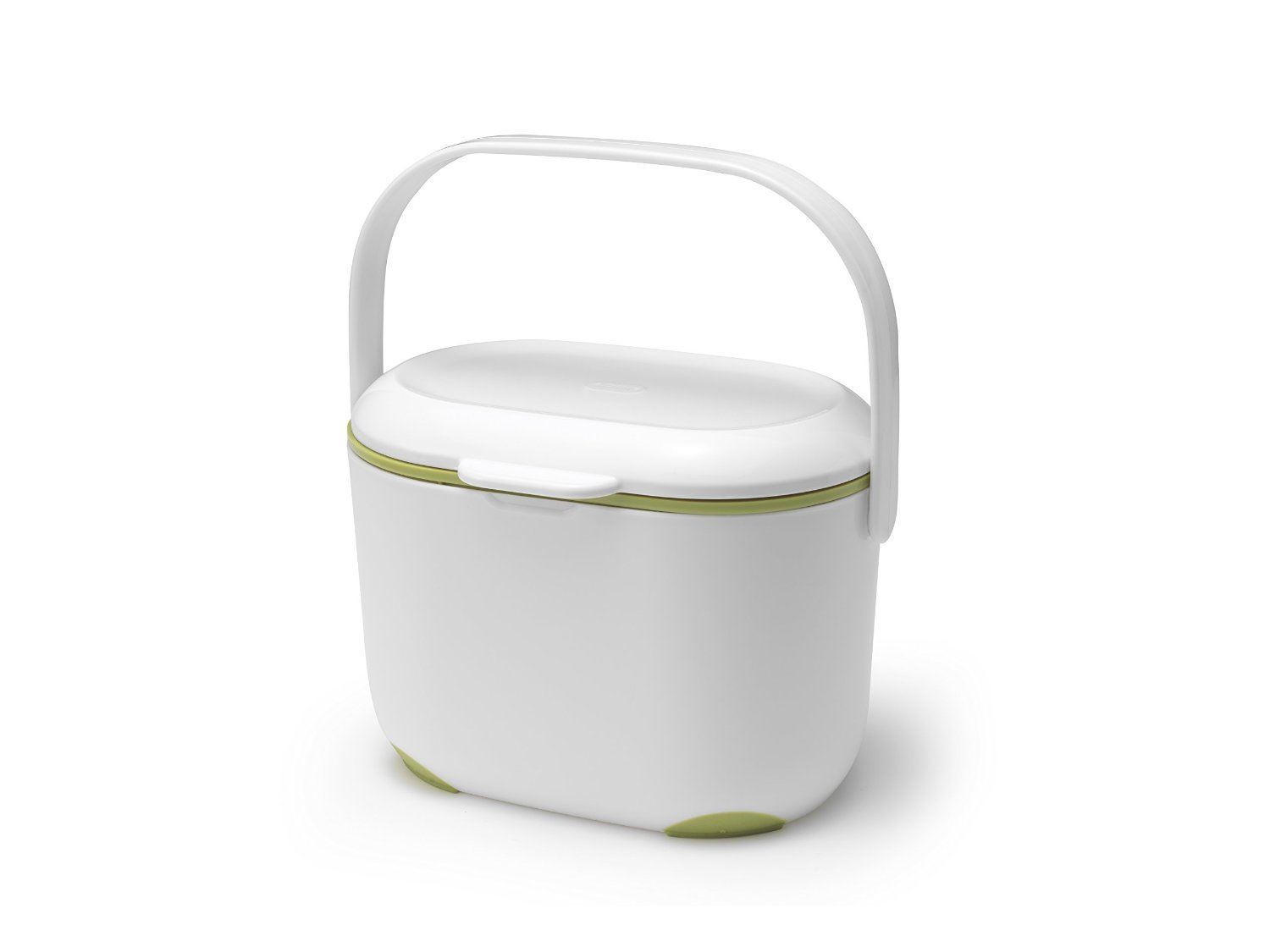 addis white kitchen waste food recycling compost caddy bin. Black Bedroom Furniture Sets. Home Design Ideas