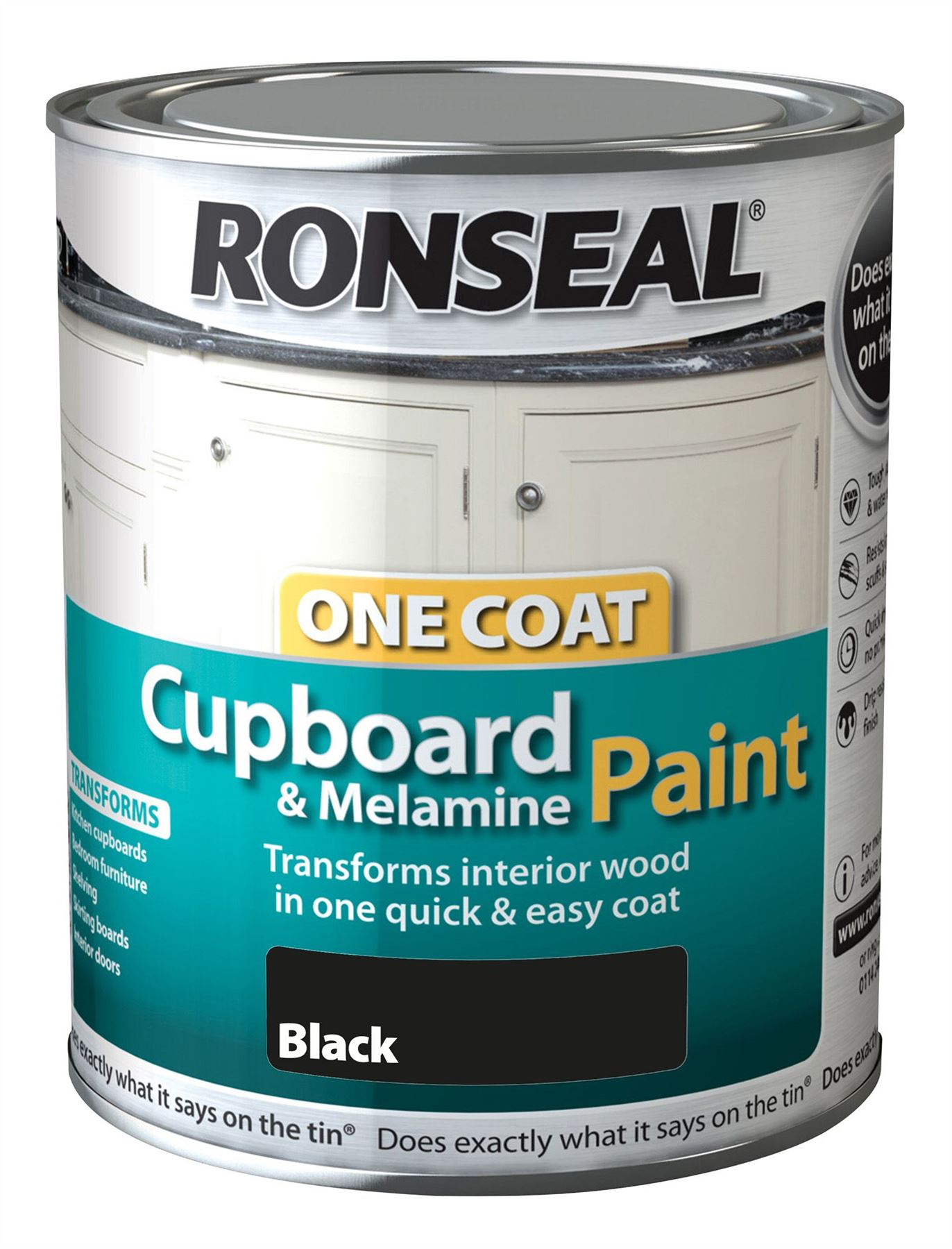 Ronseal Black Melamine Paint