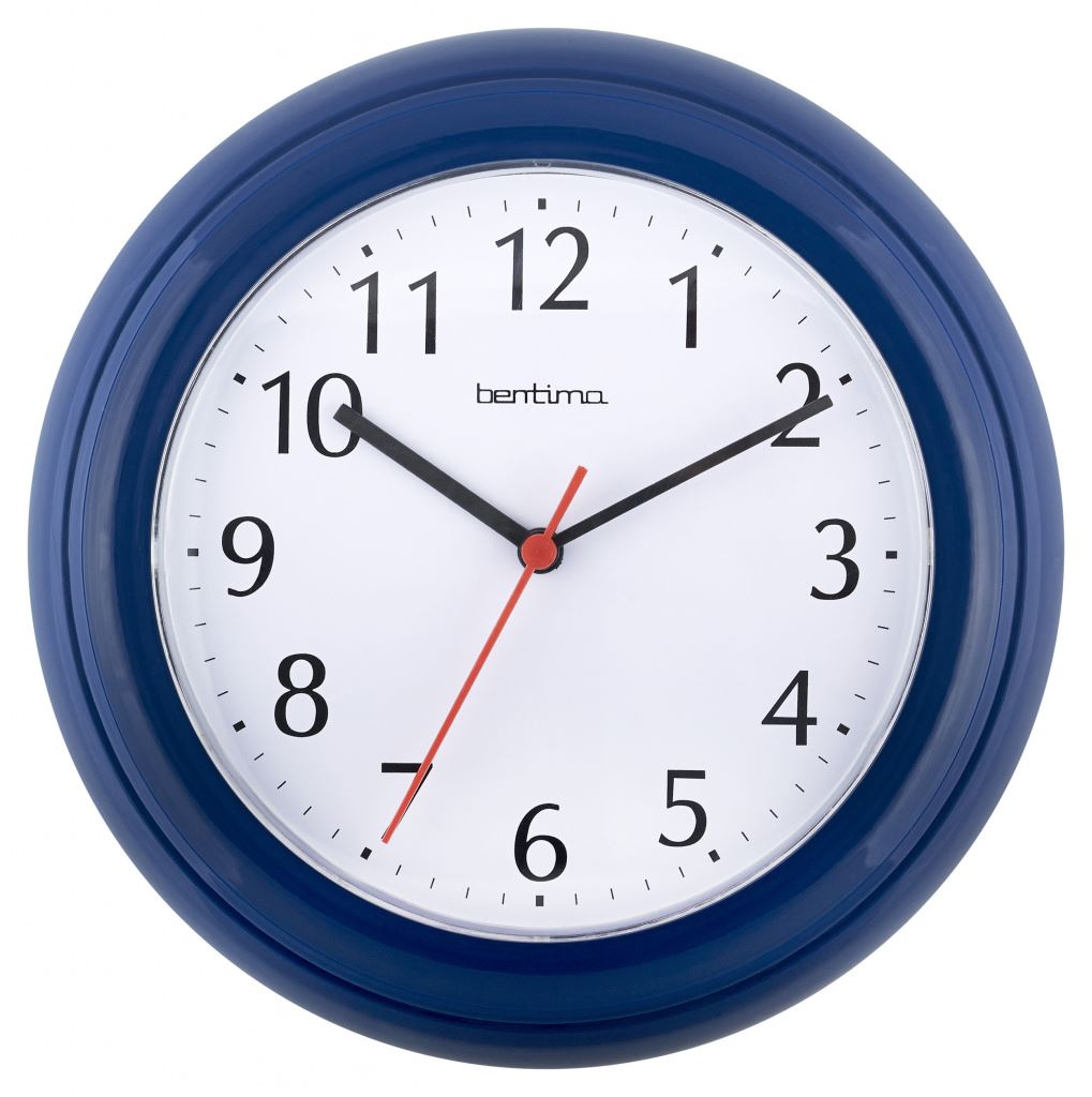 Acctim Blue Wycombe Bedroom Kitchen Office Wall Clock Ebay