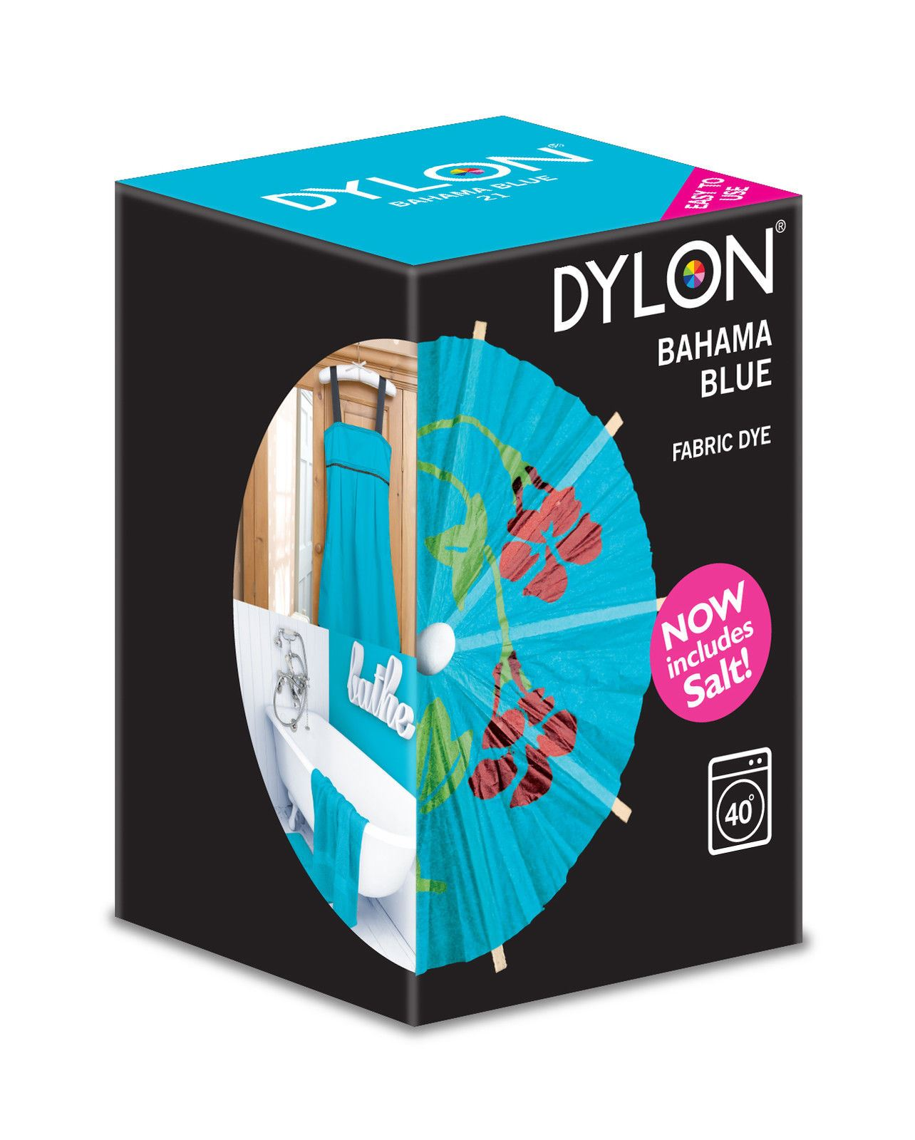 Dylon Machine Use Fabric Clothes Colour Dye 350g Various ...
