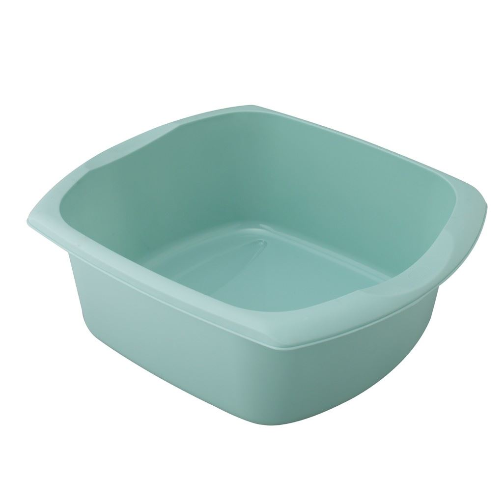 ... Plastic Large Rectangular Duck Egg Blue Washing Up Sink Bowl Basin
