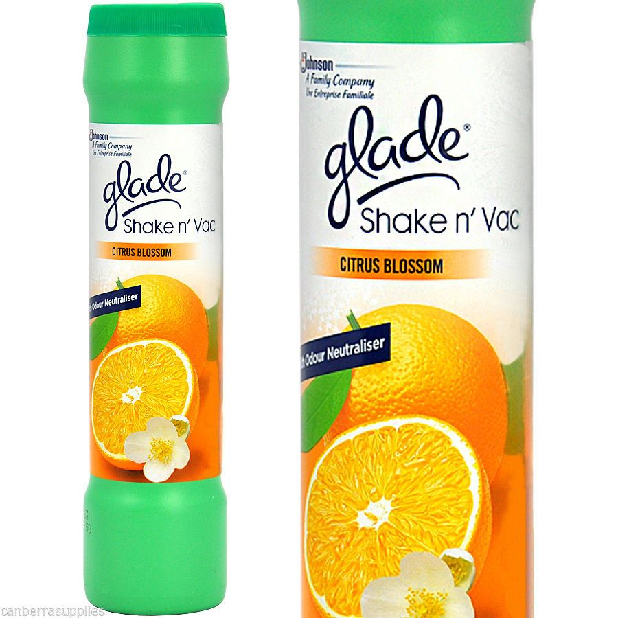 Glade Shake N Vac Fresh Lemon Carpet Freshener Powder
