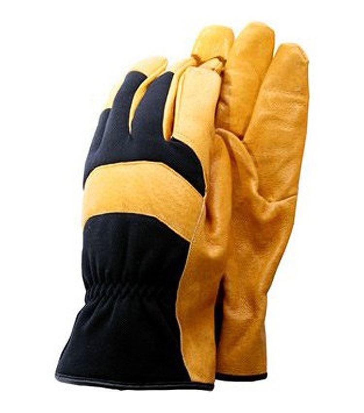 Town country deluxe soft leather gardening garden gloves for Gardening gloves ladies