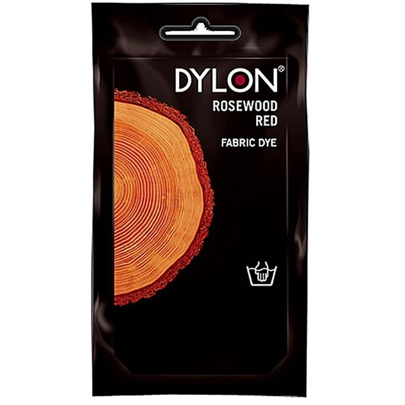 dylon fabric clothes dye rosewood red hand wash use 50g. Black Bedroom Furniture Sets. Home Design Ideas