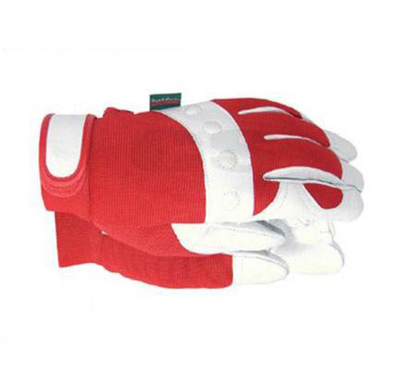Town country tgl104s comfort fit red gardening gloves for Gardening gloves ladies