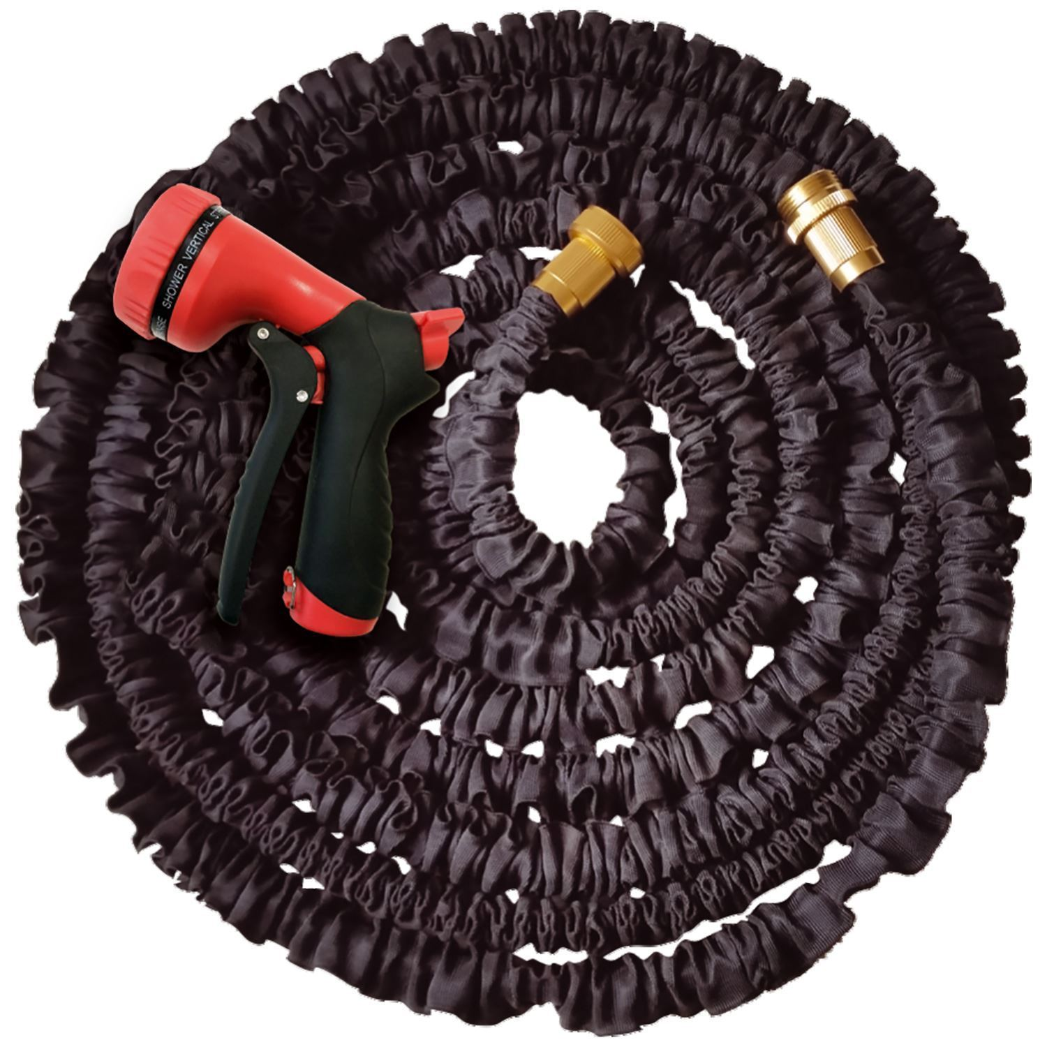 50ft 100ft 150ft expandable flexible garden hose pipe expanding quality fittings ebay Expandable garden hose 100 ft