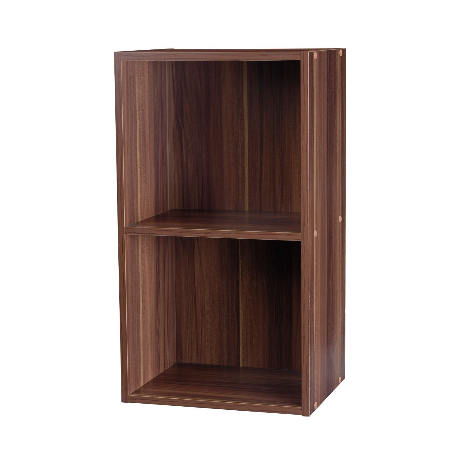 Wooden Bookcase Display Storage Shelving Shelves Wood Shelf Unit New