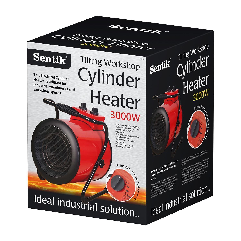Kw industrial fan heaters workshop shed garage
