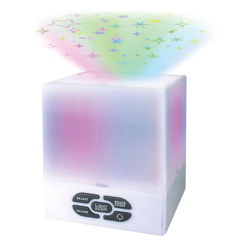 Starlight Star Projector Cube Night Light Mood Relax