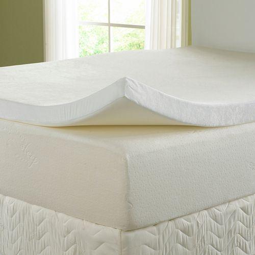 memory foam mattress topper single small double double. Black Bedroom Furniture Sets. Home Design Ideas