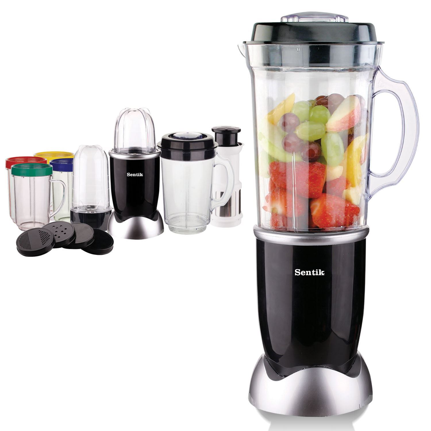 electric 21pc multi food blender juicer chopper smoothie processor mixer. Black Bedroom Furniture Sets. Home Design Ideas