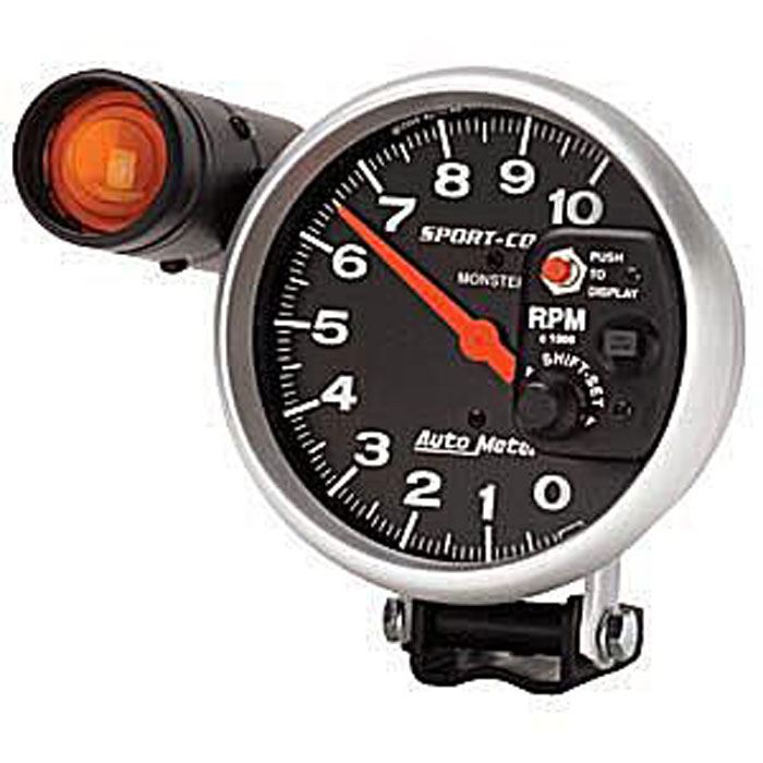karmann ghia tachometer 5 w shift light ebay. Black Bedroom Furniture Sets. Home Design Ideas