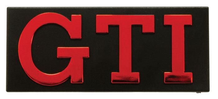 MK1 GOLF Grille Badge,