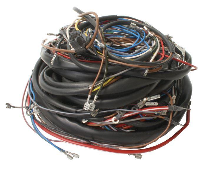 72 beetle coil wiring: beetle wiring loom, rhd, t1 8/72-
