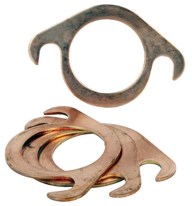 Type split exhaust gasket copper quot