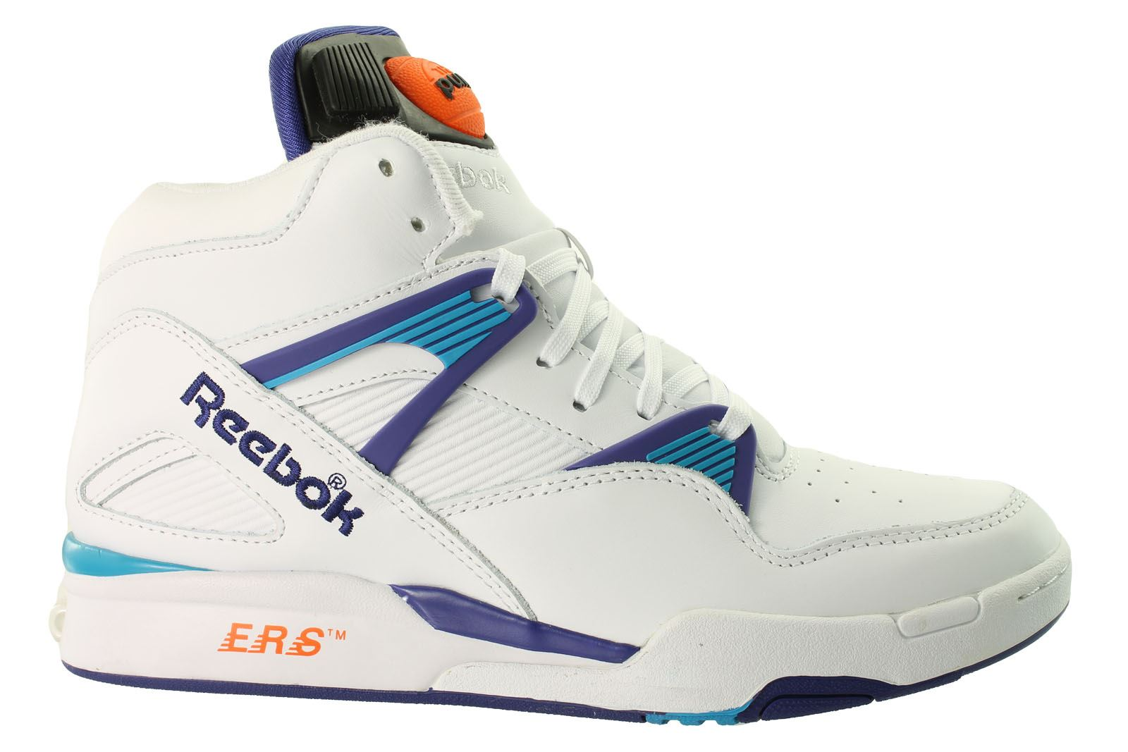 mens reebok pump boots shaq attaq omni lite cordura twilight trainers limited ed ebay. Black Bedroom Furniture Sets. Home Design Ideas