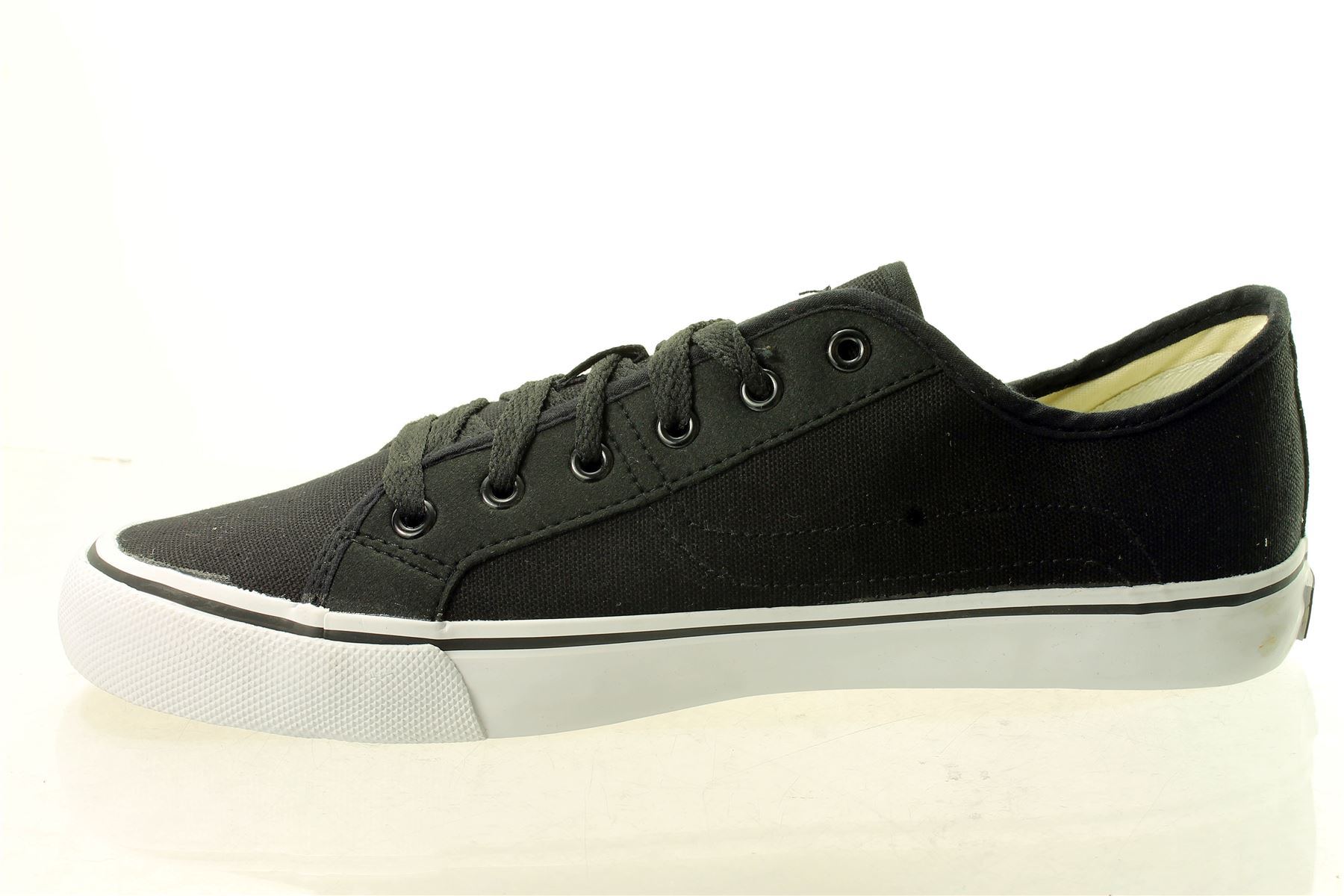 Vision-StreetWear-Low-Mens-Trainers-Sneakers-Canvas-Frontal-13-UK-7-12-Only