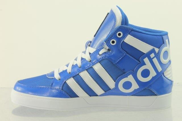 Szczegóły o adidas Originals Hard Court Hi Boots~Basketball Childrens Sizes Boys Trainers