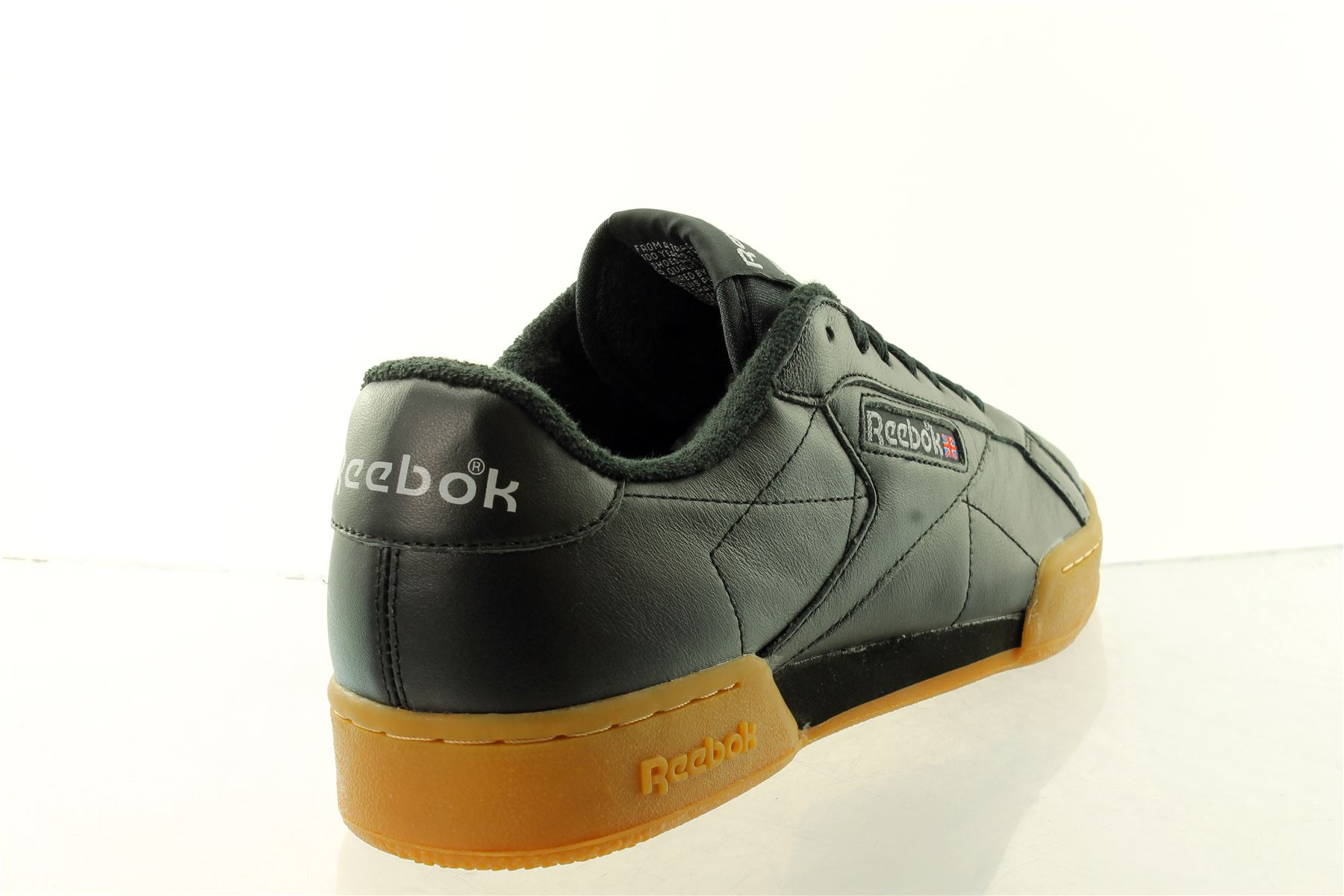 Reebok NPC II Shield cuir baskets homme rrp 62 uk 4 a 12 prix de vente