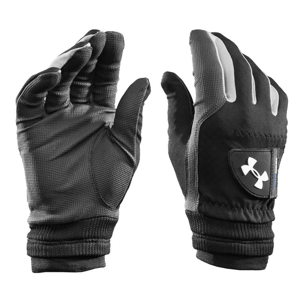 Under armour 2016 cold gear thermal mens golf gloves for Under armour cold gear shirt mens