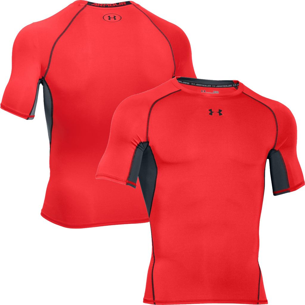 Under armour 2017 mens heatgear armour compression short for Mens under armour shirts