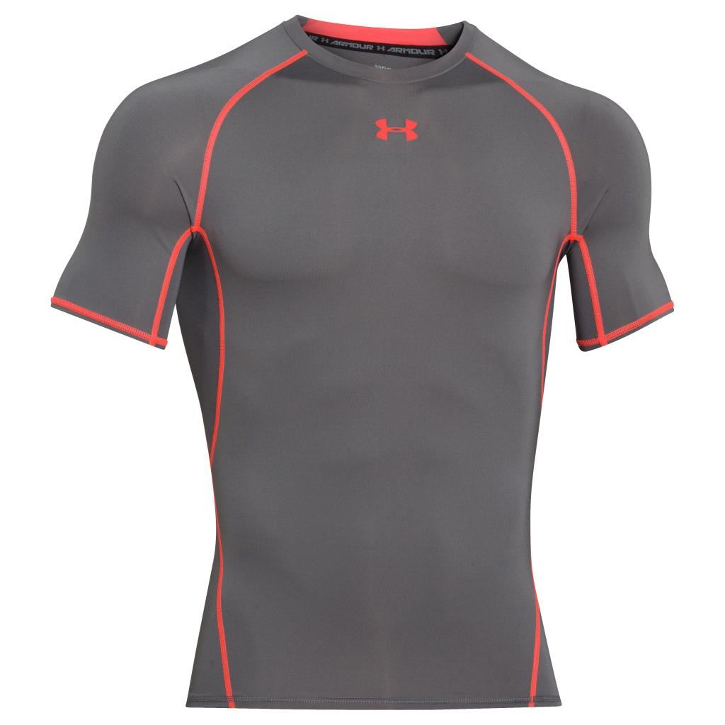 Under armour 2017 mens heatgear armour compression short for Under armour heatgear white shirt