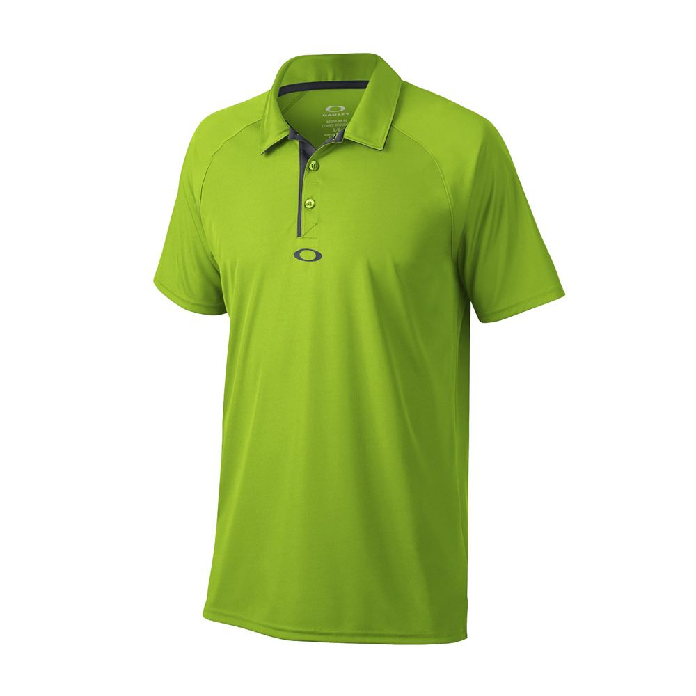Oakley elemental 2 0 men 39 s hydrolix performance golf polo for Mens golf polo shirts