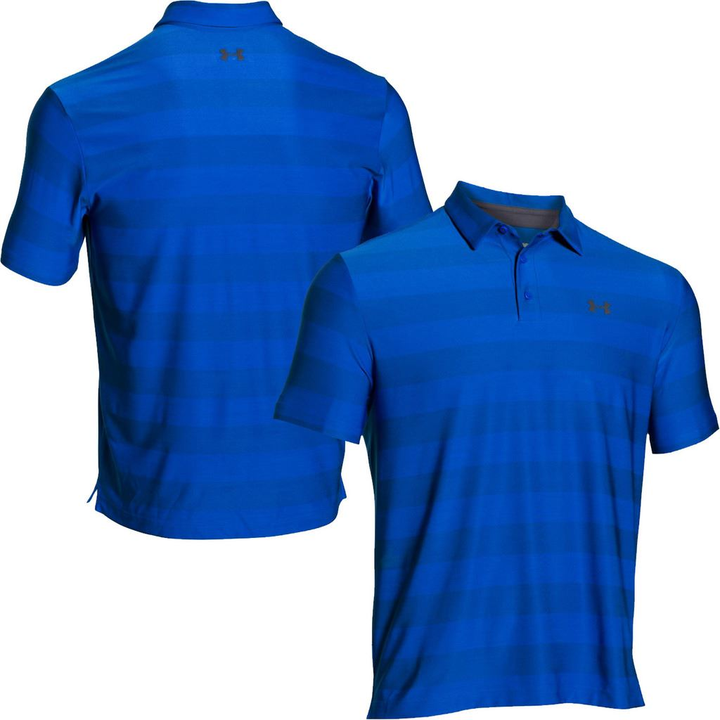Under armour 2016 playoff performance funky mens golf polo for Polo golf shirts for men