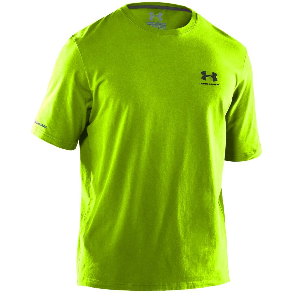 2015 under armour charged cotton sportstyle left chest for Under armour charged cotton shirts mens
