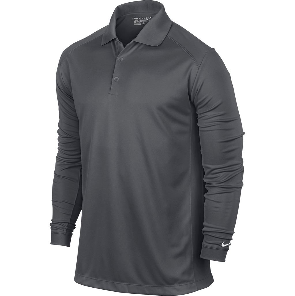 Nike victory long sleeve mens golf polo shirt 2015 for Polo golf shirts for men