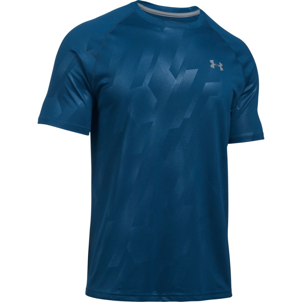 Under armour 2017 tech novelty patterned short sleeve t for Under armour lifting shirts